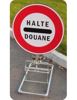 Panneau Halte Douane