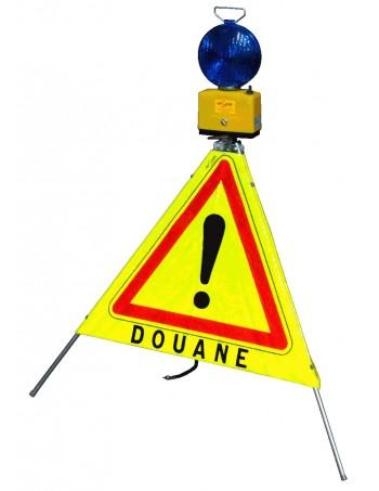 Tripode de signalisation - Douane