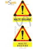 Triflash 700 mm - Halte Douane