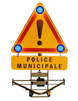 Triflash 700 Police Municipale Feux Bleus