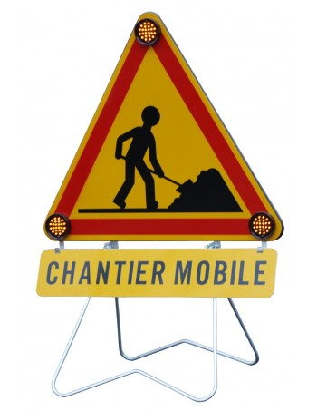 Triflash Chantier mobile