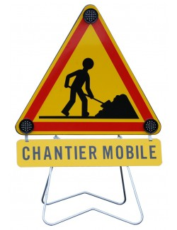 Triflash Chantier mobile