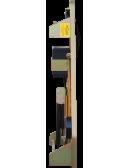 Triflash 700mm - AK14 (!)  film classe 2 prismatique fluorescent Plié de profil