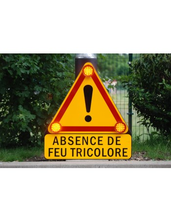 Triangle d'Intervention Triflash signalisation