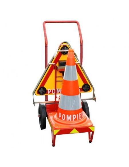 Chariot de Balisage d'urgence - Pompiers