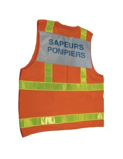 Gilet SP Contraste - Pompiers