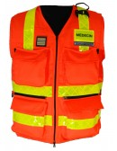 Gilet Haute Visibilité SSSM - Pompiers