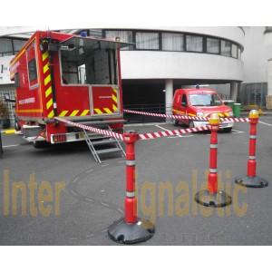 Mat riels et habillement de signalisation pour sapeurs pompiers intersignaletic - Cone de lubeck ...